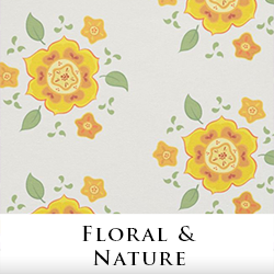 Floral Fabric by Tigerlynx, from Zazzle