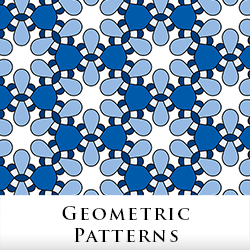 Geometric Fabric by Tigerlynx, from Zazzle