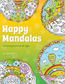 Happy Mandalas Colouring Book by Tigerlynx