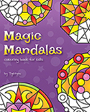 Magic Mandalas Colouring Book by Tigerlynx