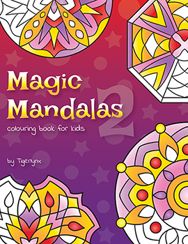 magic mandalas 2 colouring book for kids - Kids Colouring Book