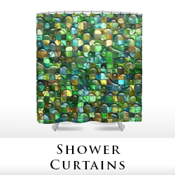Shower curtains by Tigerlynx, from Pixels