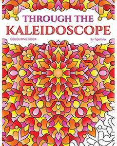 Through the Kaleidoscope Colouring Book by Tigerlynx