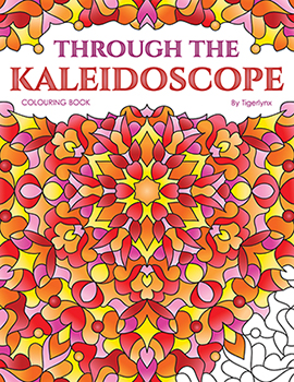 Through the Kaleidoscope Coloring Book by Tigerlynx