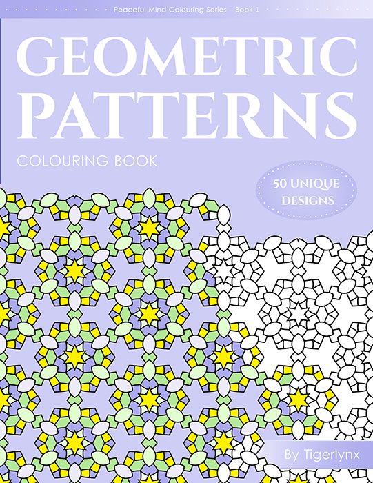 Geometric Patterns Coloring Book by Tigerlynx