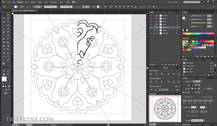 WIP - kids mandalas colouring book