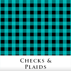 Check & Plaid Fabric by Tigerlynx, from Zazzle
